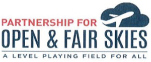 Open and Fair Skies logo