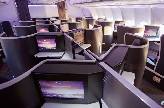 Virgin Australia A330 Business Class suite 1 (VA)(LR)