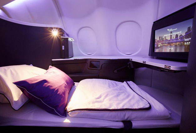 Virgin Australia A330 Business Class suite 2 (VA)(LR)