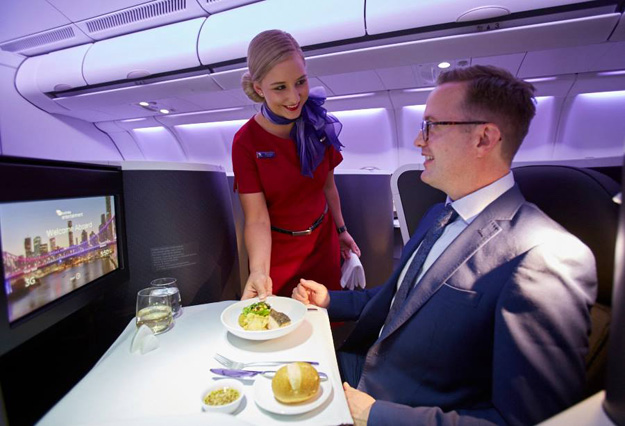 Virgin Australia A330 Business Class suite 3 (VA)(LR)