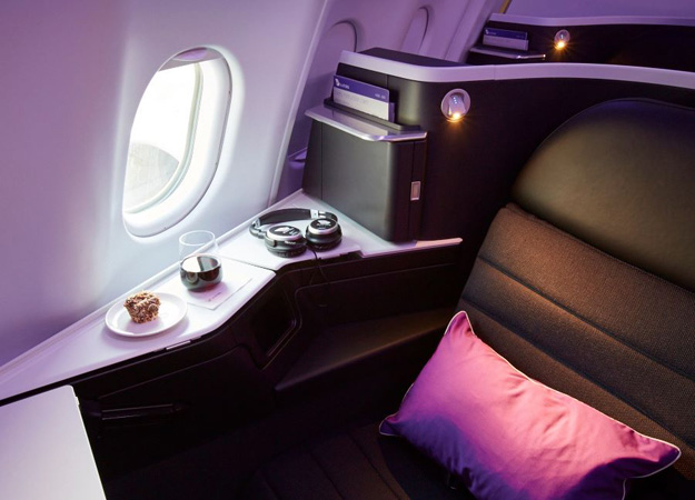Virgin Australia A330 Business Class suite 4 (VA)(LR)