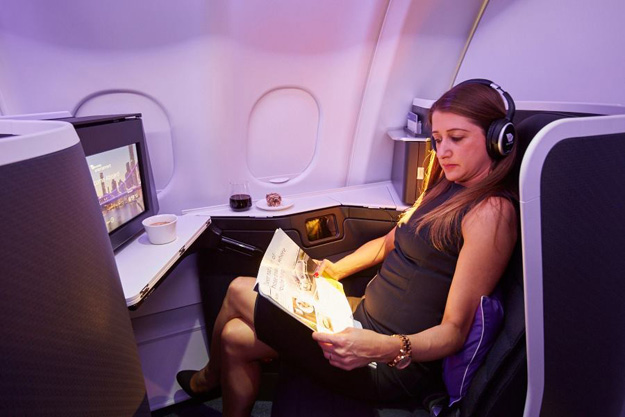 Virgin Australia A330 Business Class suite 5 (VA)(LR)