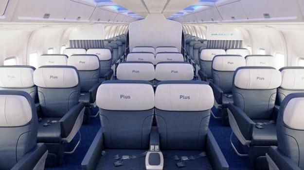 WestJet 767-300 Cabin (WestJet)(LR)