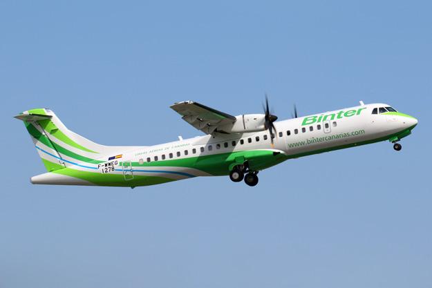 Binter Canarias ATR 72-600 F-WWEG (EC-MIF)(08)(Tko) TLS (ATR)(LRW)