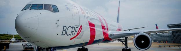 Delta 767-400 N845MH (15-BCRF)(Nose) ATL (Delta)(LR)