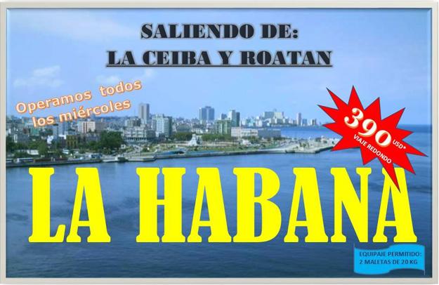EasySky charters to Havana