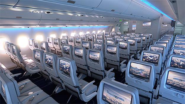 Finnair A350-900 economy class (Finnair)(LR)