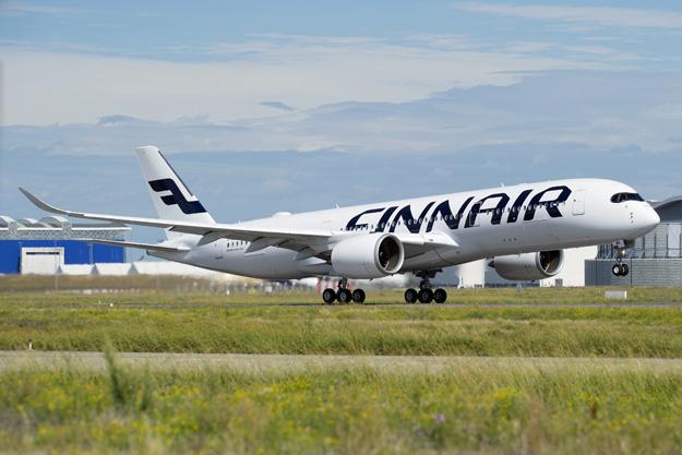 Finnair A350-900 F-WZFM (OH-LWA)(10)(Ldg) TLS (Airbus)(LRW)