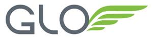GLO (white) logo