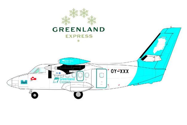 Greenland Express L-410 (Greenland Express)(LR)