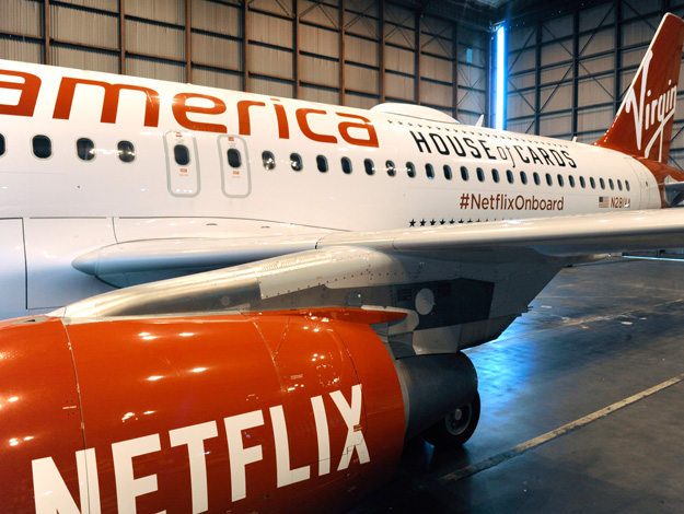 Virgin America A320-200 WL N281VA (15-Netflix-House of Cards)(Titles-1)(Virgin America)(LRW)