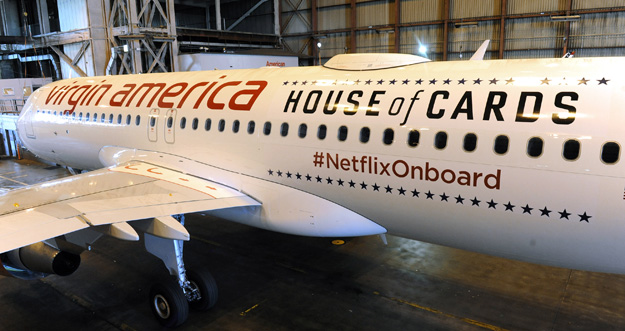Virgin America A320-200 WL N281VA (15-Netflix-House of Cards)(Titles-2)(Virgin America)(LRW)
