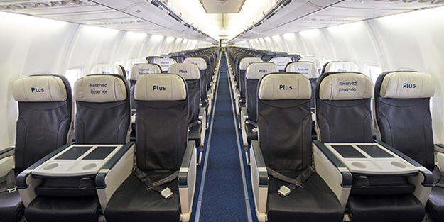 WestJet Plus seats