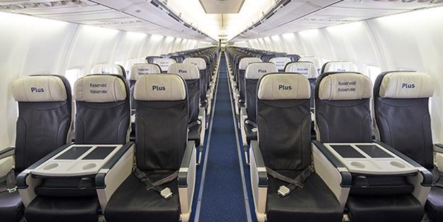 WestJet Plus seats