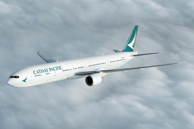 Cathay Pacific 777-300 B-KPM (15)(Flt) HKG (CPA)(LRW)