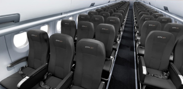 CityJet Superjet 100 (Cabin)(CityJet)(LRW)