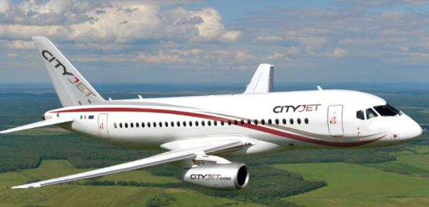CityJet Superjet 100 (Flt)(CityJet)(LRW)