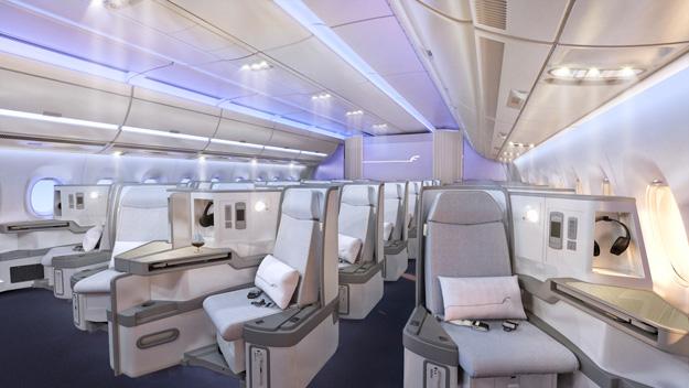 Finnair A350-900 Cabin 2 (Finnair)(LR)
