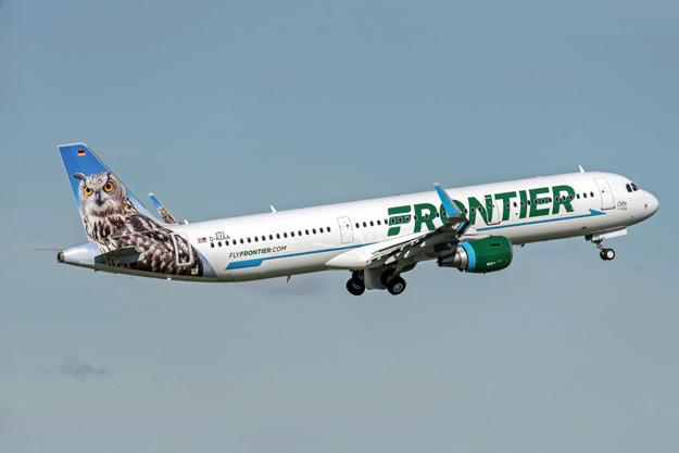 Frontier (2nd) A321-200 WL D-AZAA (N701FR)(14)(Tko) XFW (Airbus)(LRW)