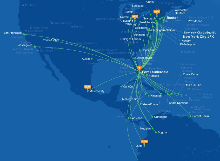 JetBlue launches flights to Mexico City | World Airline News