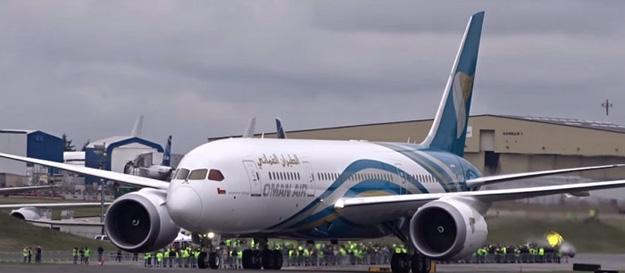Oman Air 787-8 A40-SA (08)(Grd)(Oman Air)(LR)