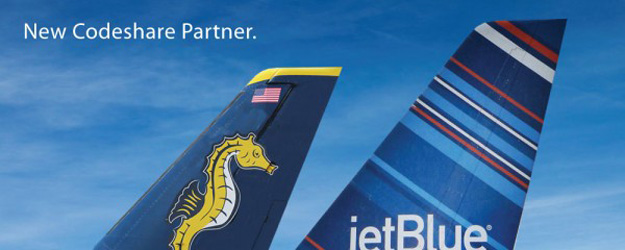 Seaborne-JetBlue codeshare