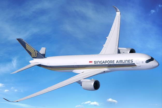 Singapore A350-900 (06)(Flt-1)(Airbus)(LRW)