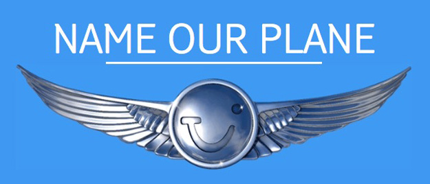 Thomson Name our Plane logo