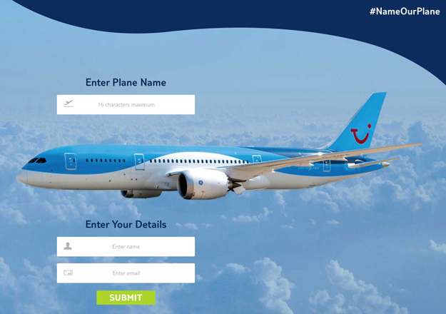 Thomson NameOurPlane Contest
