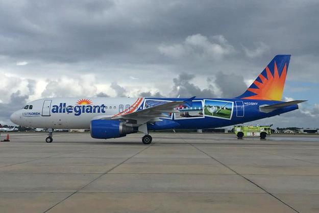 Allegiant A320-200 N228NV (15-Visit Florida)(Grd) SFB (Allegiant)(LR)