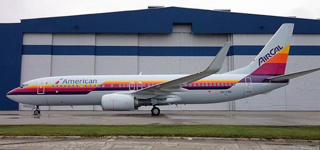 American 737-800 WL N917NN (15-AirCal 81)(Grd)(American)(LRW)