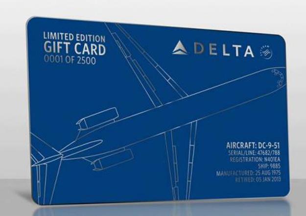 Delta DC-9-51 N401EA Gift Card