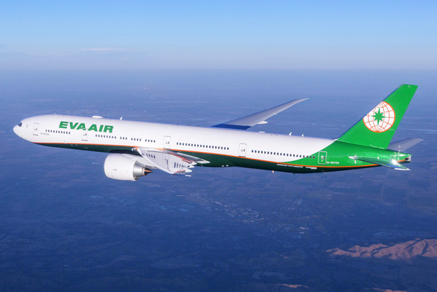 Boeing Eva Air Celebrate A 777 300 Er Delivery With A