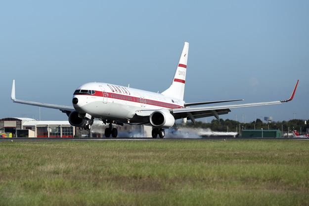 QANTAS 737-800 VH-VXQ (59)(Ldg) SYD (QANTAS)(LRW)
