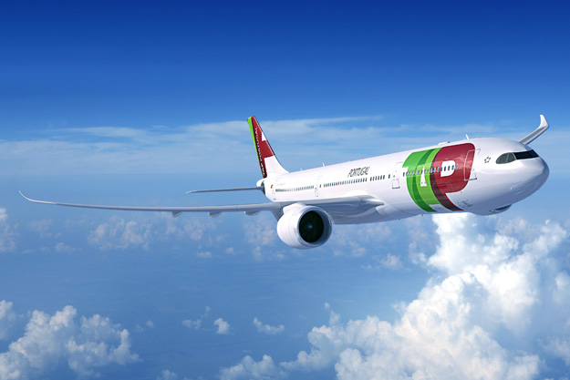 TAP Portugal A330-900neo (05)(Flt)(Airbus)(LRW)