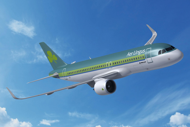 Aer Lingus A320-200neo (96)(Flt)(LRW)