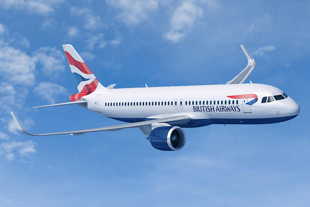 British Airways A320-200neo (97-Union flag)(Flt)(Airbus)(LRW)