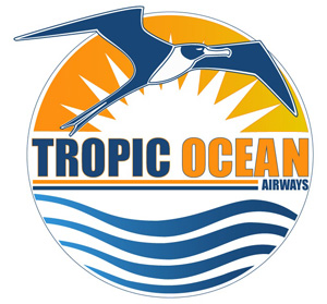 Tropic Ocean Airways logo (LR)