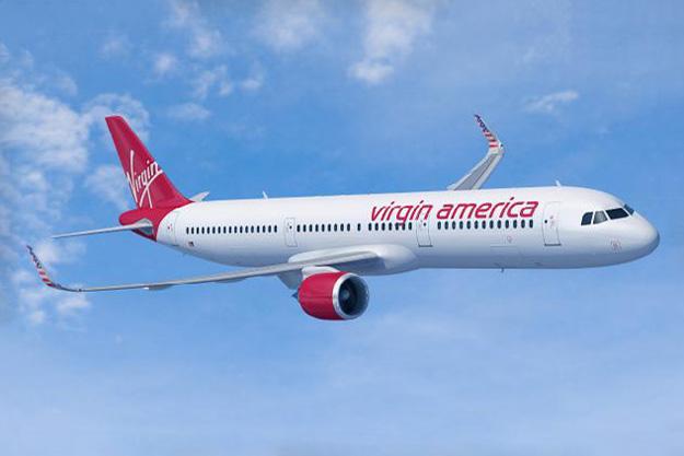 Virgin America A321neo (Airbus)(LR)