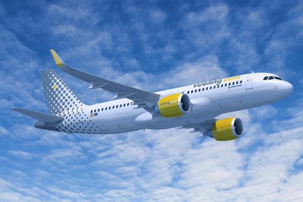 Vueling.com A320-200neo (04)(Flt)(Airbus)(LRW)