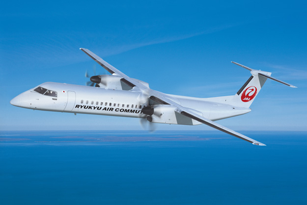 Ryukyu Air Commuter DHC8-400C (Flt)(Bombardier)(LRW)