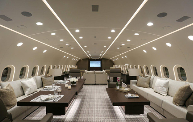 Deer jet to operate the world s first vip 787 boeing for Design vip chambre mario jean