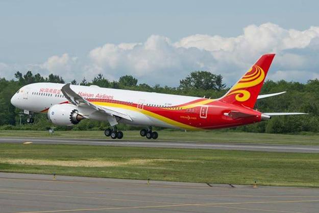 Hainan 787-9 B-7880 (12)(Tko) PAE (Hainan)(LR)