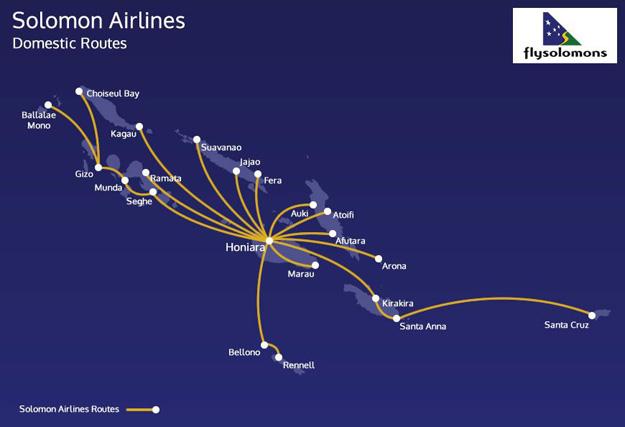 Solomons 6.2016 Domestic Route Map