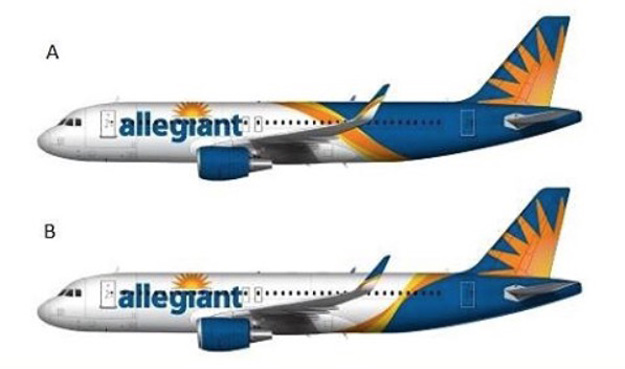 Allegiant Air 2016 livery options