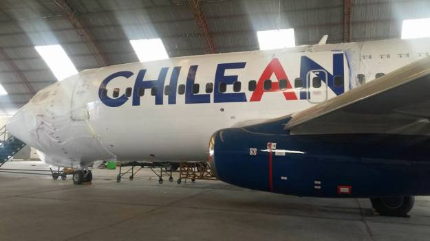 Boeing 737-200 CC-CVI Chilean Airways