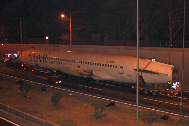 Star 727-200 CC-CPV fuselage (moved to new site) Santiago (AR)(LRW)
