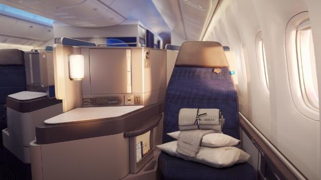 United Polaris seat (PRNewsFoto/United Airlines)