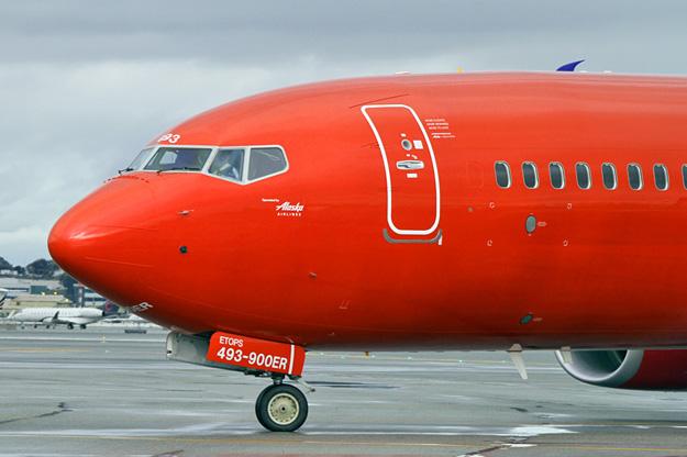 Alaska Virgin America 737 900er Sswl N493as 16