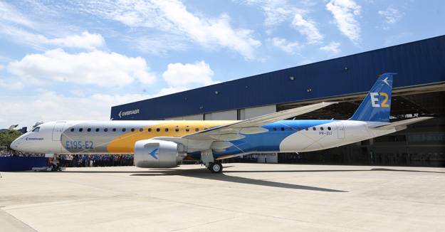 Embraer rolls out the E195-E2 | World Airline News - photo#41